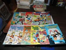 Donald Duck Adventures #10 #11 #19 #42 #44 #44 #47 #48 Mickey and Donald 16-18