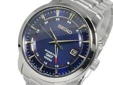 Seiko Para Hombre Kinetic 100m Gmt Watch sun031p1 Garantía, Caja
