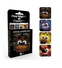 Official Five Nights At Freddys Cup Coaster Set, 4 Coasters