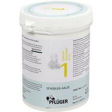 BIOCHEMIE Pflueger 1 Calcium fluor. D12  Tabl.   1000 st       PZN 6318743