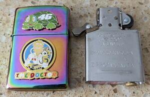 Zippo spectrum Lighter -Customised for Valentino Rossi, 46, The Doctor, MotoGP