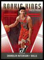 2018-19 DONRUSS ROOKIE KINGS PRESS PROOF CHANDLER HUTCHISON RC CHICAGO BULLS #29