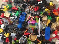 x60 QTY! LEGO MINI FIGURE ACCESSORIES PACKS - CITY!
