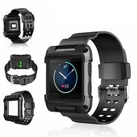 Replacement Wrist band Strap Bracelet + Metal Frame For Fitbit Blaze Smart Watch