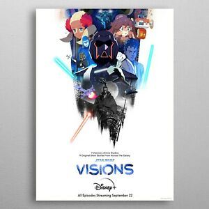 Official StarWars: Visions Movie Poster Wall Decor Home Poster
