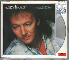 Chris Norman CD-Single Back Again (C) 1989