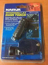 Cigarette Lighter Torch Rechargeable 12V Torch LED Torch  NARVA 81036BL