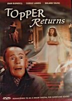 Topper Returns, Vintage DVD, Roland Young, Joan Blondell, Carole Landis, NEW