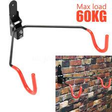 Wall Mount Hook Hanger Bike Bicycle Cycling Rack Storage Garage Steel