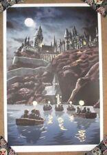 Harry Potter poster print Hogwarts Tim Doyle Unreal Estate