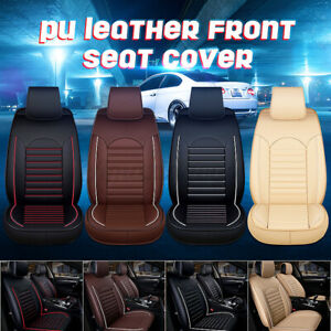 Universal Car Seat Cover Chair Cushion Mat Pad Protector PU Leather Breathable