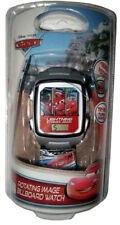 Disney Cars Kids' Rotating Image Billboad Digital Quartz Watch CRSKD466
