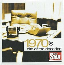 VARIOUS ARTISTS - 1970's HITS OF THE DECADES, Daily Star CD