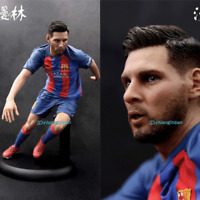 1/5 Lionel Messi Figurine Model Football Player Statue Gift GK In Stock 10'' Hot