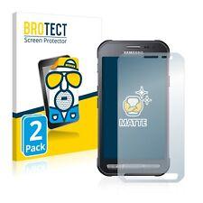 2x Display Schutz Folie für Samsung Galaxy Xcover 3 Matt Entspiegelt