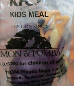 KFC The Lion King'sTimon & Pumbaa Snail Snackin Timon NEW