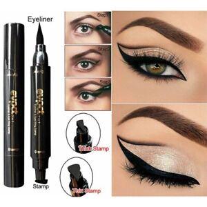 Hot Look Waterproof Eyeliner Pen Winged Cat Long Lasting Ink Stamp Pencil Liquid