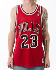 Vintage Chicago Bulls 90's Michael Jordan NBA Champion Basketball Jersey sz 44