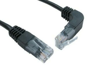 PATCH LEAD CAT 5E ST-RT ANGLED UP 3M Cable Assemblies UT-RA103 PACK 1