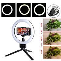 "9"" LED Ring Light with Stand Lighting Kit Phone Light for Youtube Live Makeup ne"