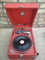 Retro Vintage Turntable Gramophone Record-player Of Vinil USSR Soviet