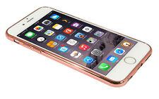 Eloja ® iPhone 6 funda TPU (4,7) cover case bumber metal óptica ROSÉGOLD