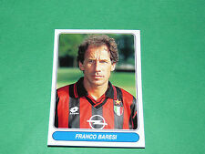 N°22 FRANCO BARESI MILAN AC CALCIO PANINI EUROPEAN FOOTBALL STARS 1996-1997