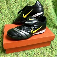 MENS NIKE PREMIER TF ASTRO TURF / FOOTBALL TRAINERS SIZE UK 8 LEATHER
