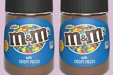 M&M's Crispy Chocolate Flavoured Spread with Crispy Pieces Sweets Candy Jar