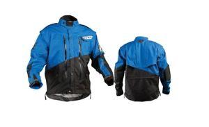 Fly Racing Patrol Jacket Blue Small Motorcycle Offroad Street Dirt Riding ATV