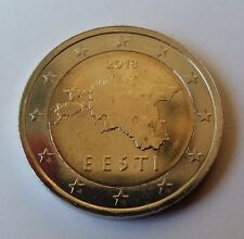 Estonia 2 euro coin 2018 UNC