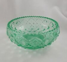 Glass Candy Dish Lot of 4 Antique 1930s Cut Glass Depression Glass Nut and Candy Bowls Serving Pieces
