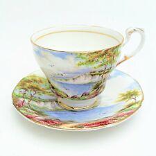 Vintage Paragon Bone China 'Cliffs of Dover' Tea Cup & Saucer