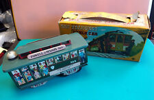 Vtg San Francisco Powell & Mason Sts 514 Cable Car Toy With Box Made In Japan