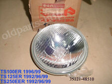 SUZUKI ts100 tc100 nos headlamp 1973-1977 35121-25611