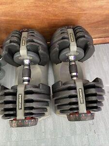 Bowflex Adjustable Dumbells