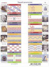 Nederland V2065-2076 vel de 12 Provinciezegels postfris 2002