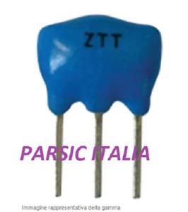 FILTRO CERAMICO 10,7 MHz  10.7MHz CERAMIC FILTER 10M7  3 PIN (QTY: 12 PEZZI)