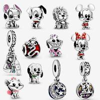 Disney Full Series Mickey Minnie Pandora Charm 925 Sterling Silver #Disn20