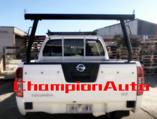 3'' Black Aluminum Ladder Rack fit Tub Nissan Navara D40 2006-2014