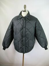 F2369  VTG Men's OSHKOSH Quilted Jacket Size L Made in USA