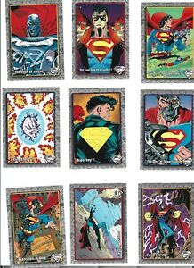 1993 Return Of Superman Complete Set without bonus cards (1993, Skybox)