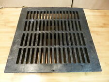 """NDS Black Grid Flat Square Grate 18""""   NDS-1811"""