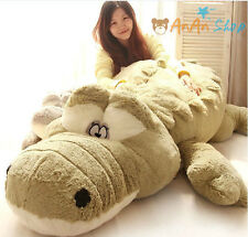 2M Giant Big Plush Crocodile Cute Stuffed Animal Soft Toys Huge Cushion Pillow