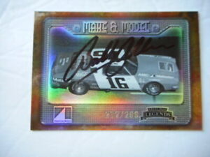 Bobby Allison signed 2010 PP LEGEND #16 AMC MAKE & MODEL Nascar Card Ser #ed
