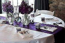 5 Pack ~NEW~ Satin Table Runner Wedding Party Banquet Decoration 15+ Colors!
