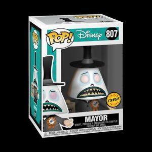 Funko POP Disney: Nightmare Before Christmas - Mayor  CHASE EDITION
