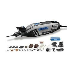 Dremel 4300 175w Slim Rotary Corded Tool Cool Quiet 5 Attachments 50 Accessories