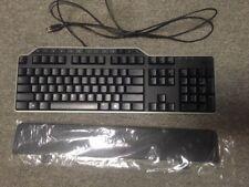 Dell Keyboard with Wrist Rest Black L-100 SK-8115 KB522 USB OEM Brand New