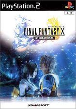 Used PS2 Final Fantasy X International [with Bonus DVD]  Japan Import、